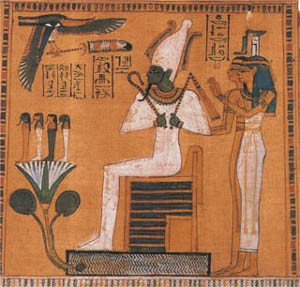 Osiris jutjant als morts