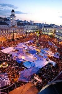 Puerta del Sol, tarde del 20 de Mayo 2011 / Foto de gaelx en flickr