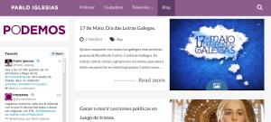 Blog personal de Pablo Iglesias - Derechos reservados desconocidos.