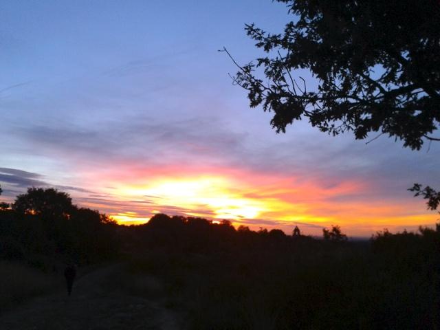 L'albada des de Rabanal del Camino