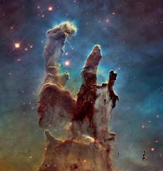 """""""Els pilars de la creació"""" - NASA"""